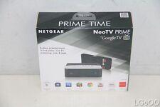 NEW NETGEAR NeoTV Prime with Google TV Streaming Player (GTV100) Xmas Present