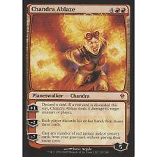 Chandra Ablaze x 4 + 30 random rares! mtg rare lot magic the gathering gift set