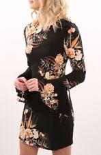 Vestito Donna Mini Abito Stampa Fiori Woman Mini Flower Print Dress 110325 P