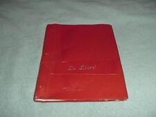 "1957-58 EAST LANSING, MICHIGAN JUNIOR HIGH SCHOOL ""LE LIVRE"" YEARBOOK"