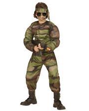 Costume Carnevale Bambino Soldato Muscoloso PS 26184