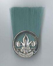 Extinct 1990's HONG KONG SCOUTS Scout Master / Leader (SM / SL) Metal Hat Plume