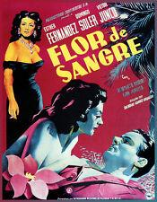 Choose Paper or Canvas POSTER.Flor de Sangre spanish movie .Vintage decor.q138