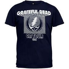 Grateful Dead - On Tour 1980 Soft Adult Mens T-Shirt