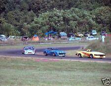 KEN SLAGLE TRIUMPH TR8 PAUL NEWMAN DATSUN 280ZX CAR RACING PHOTO RACE BOB SHARP