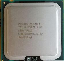 Intel Q9650 Core 2 Quad - 3 Ghz Quad Core L2=12MB Socket 775 1333FSB,very fresh!
