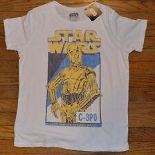 Star Wars C-3PO Light Weight Graphic Tee Retro T-Shirt Licensed tee Mighty Fine