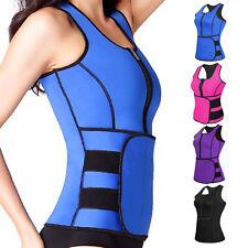Women Waist Trainer Vest Gym Workout Slimming Adjustable Girdle Belt Body Shaper