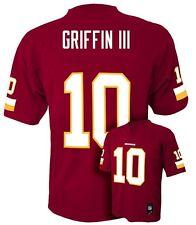 ($55)NFL Washington Redskins Robert Griffin III Jersey #10 L XL Red NWT RG3