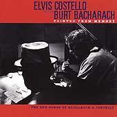 Elvis Costello/Burt Bacharach  - Painted from Memory (CD, Sep-1998, Mercury)