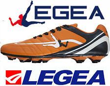 Scarpe Calcio Legea FG PU Wake boy Dal 36 al 40 -arancione nero -nuovo modello