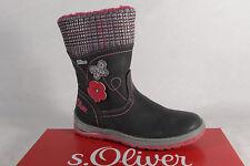 s.Oliver Tex Stiefel Stiefeletten Boots grau/pink 36421  NEU!