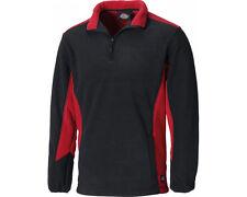 Dickies Two 2 Tone Micro Fleece JW7011 Workwear Grey, Red & Royal/Black S - 3XL