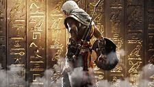 Assassins Creed orígenes jeroglíficos cartel E256
