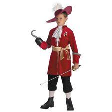 Captain Hook Costume Peter Pan Halloween Fancy Dress