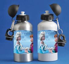 Frozen Personalised Kids/Drinks/Sports Childrens Water Bottle
