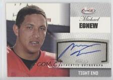 2012 SAGE Autographed Autographs Silver #A13 Michael Egnew Missouri Tigers Auto