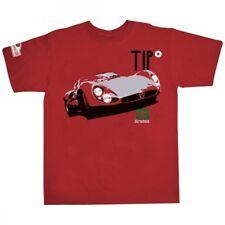 Hunziker Tipo 33 Stradale Red Tee Shirt