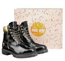 3a74224431ea Timberland Men s Premium 6 inch Limited Release ORIGINAL Boots Black Gold  A1U6J