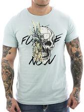 Sublevel T-Shirt Future 2277 light blue NEU Männer Shirt