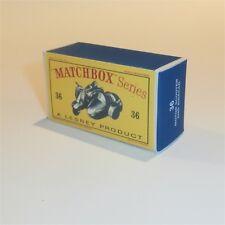 Matchbox Lesney 36 b Lambretta Scooter empty Repro D style Box
