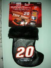 Nascar Mini Stocking CAR + HOOD Tony Stewart  #20 * NEW +
