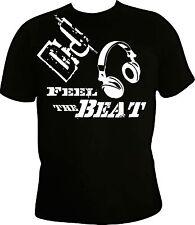 Dj T-shirt, hacke, musik shirt, techno,party,funshirt,hardcore,schranz,pult,beat
