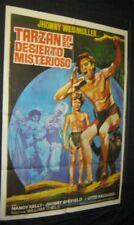 Original Spanish TARZAN'S DESERT MYSTERY 1 sheet R71