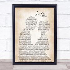 I'm Alive Song Lyric Man Lady Bride Groom Wedding Print