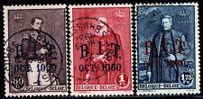 Belgio 1930 Cat. Unificato n. 305/307 usati (m578)