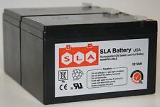 12V 12Ah SLA Battery Replacement for UB12120 2-Pack (12 Volt)
