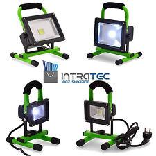 Scheinwerfer Lichtfluter LED 10-20W mit/ohne Akku 800-1600Lumen Gartenleuchte