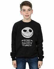 Disney niños Nightmare Before Christmas Bone Daddy Camisa De Entrenamiento