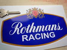 Rothmans Racing patrocinadores con el logotipo clásico de Bicicleta & Car 200mm