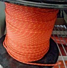 Cordino in poliestere Windsurf arancio diametro 3 mm a metro corda