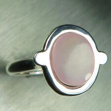 Natural Pink Smithonite 925 silver 9ct 14k 18k Gold Platinum engagement ring