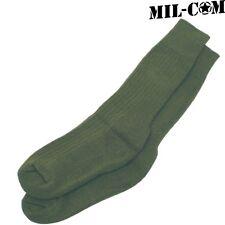 mil-com armée CADET MILITAIRE BOTTES CHAUSSETTES TAILLE UK 4-8 vert olive