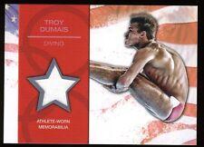 2012 Topps USA Olympics Relic Memorabilia TROY DUMAIS ~ Diving