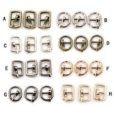 3Pcs4.5mm Diy buckle shoes accessories mini belt buckle for bjd blyth doll Acces