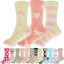 3 Paar Damen Herren Winter Bettsocken Kuschelsocken Socken Einheitsgröße 35-47