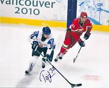 Toni LYDMAN Signed 2010 Olympics 8x10 Photo FINLAND
