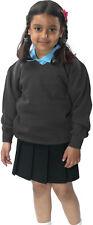 School Uniform Childrens Skoolez Fleece V-Neck Girls PE Kids Sweatshirt Jumper