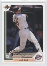 1991 Upper Deck #331 Jack Clark San Diego Padres Baseball Card
