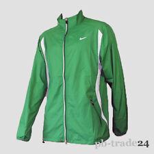 Nike Men Running Jacket Herren Laufjacke grün Sportjacke Trainingsjacke Jogging