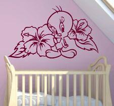 Wandtattoo Aufkleber Wandbild Natur Tiere Disney Tweety