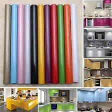1 Roll DIY Decorative Film PVC Waterproof Self Adhesive Wall Cabinet Sticker