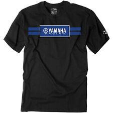 Factory Effex Yamaha Racing Stripes Men's T-Shirt Black