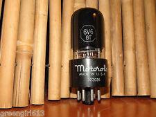 Vintage Smoked Motorola 6v6 GT Stereo Ouput Tube #8754 87 496