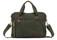 New Canvas 11L Laptop Shoulder Computer Bag Messenger Case Bag Handbag
