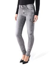 Women's New Diesel D.N.A SKINZEE SUPER SKINNY jeans laver 0847Y